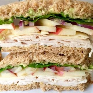 Turkey Apple Cheddar Sandwich