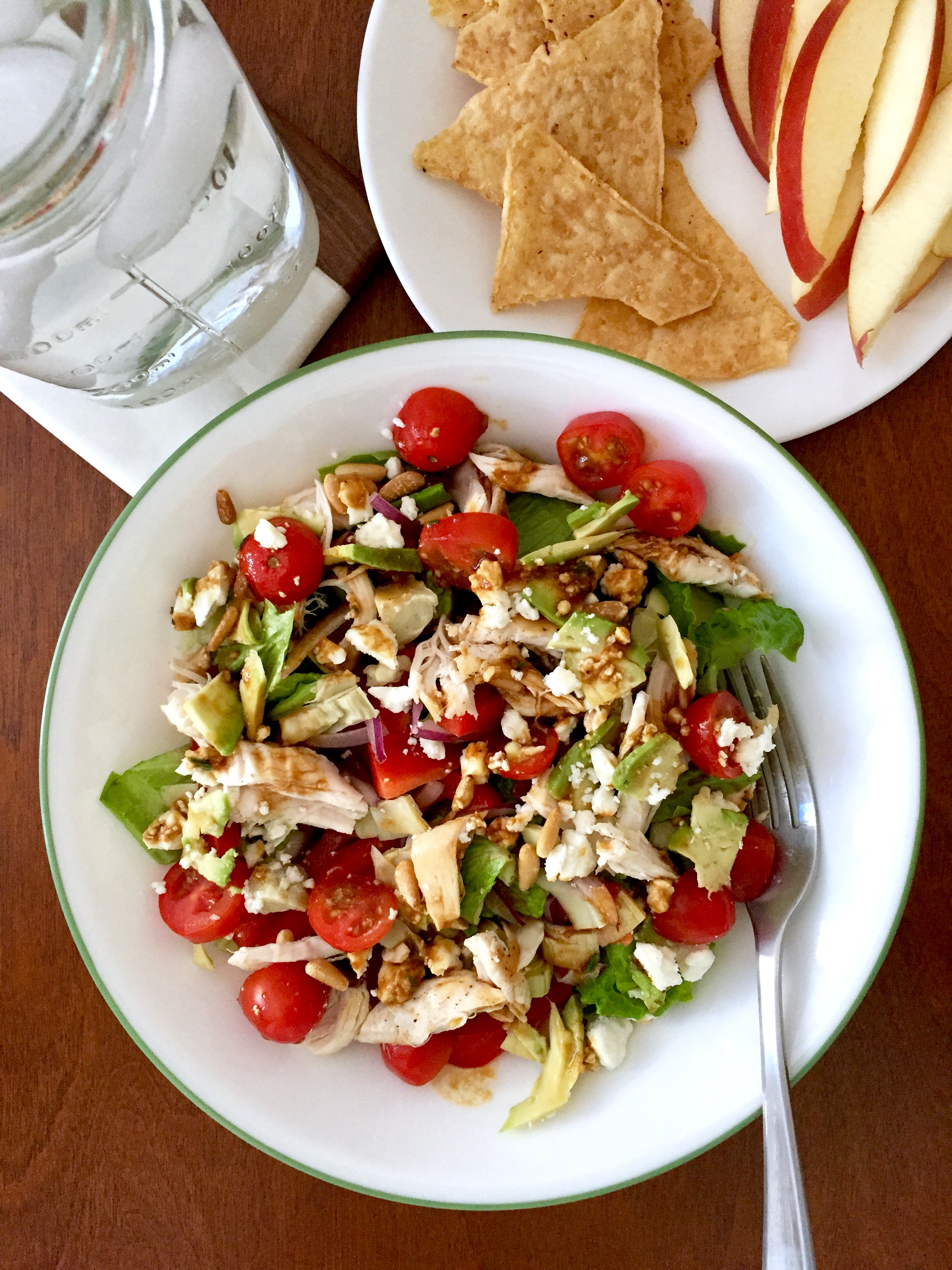 Loaded Mediterranean Chicken Salad