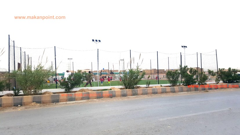 Food ball ground at spini road.