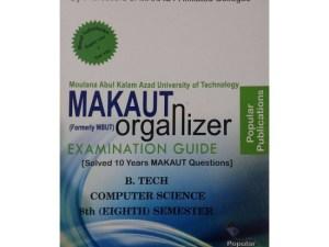 CSE 8th Semester (WBUT) Makaut Organizer Guide Book