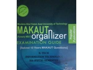 IT 5th Semester (WBUT) Makaut Organizer Guide Book