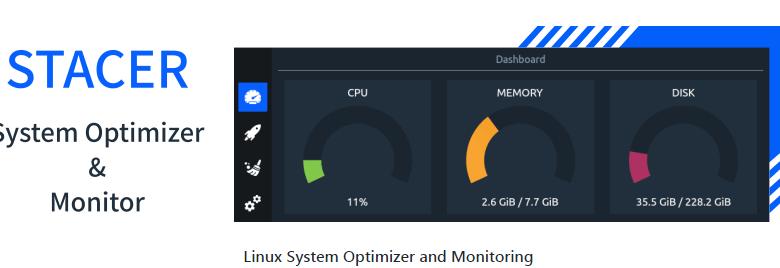 Оптимизация Linux с помощью Stacer 1