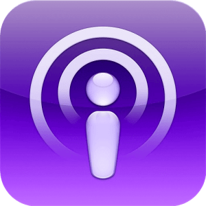 Podcasts, visual and text content