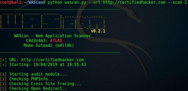 WAScan — сканер веб-приложений