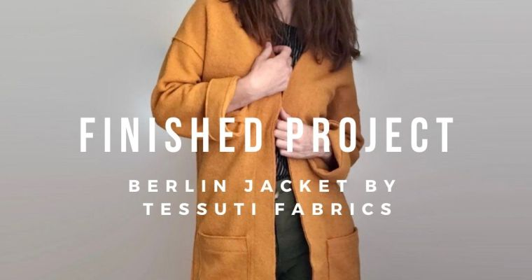 Finished Project: Berlin Jacket Sewing Pattern