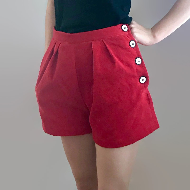 Orion Shorts Pattern by French Poetry