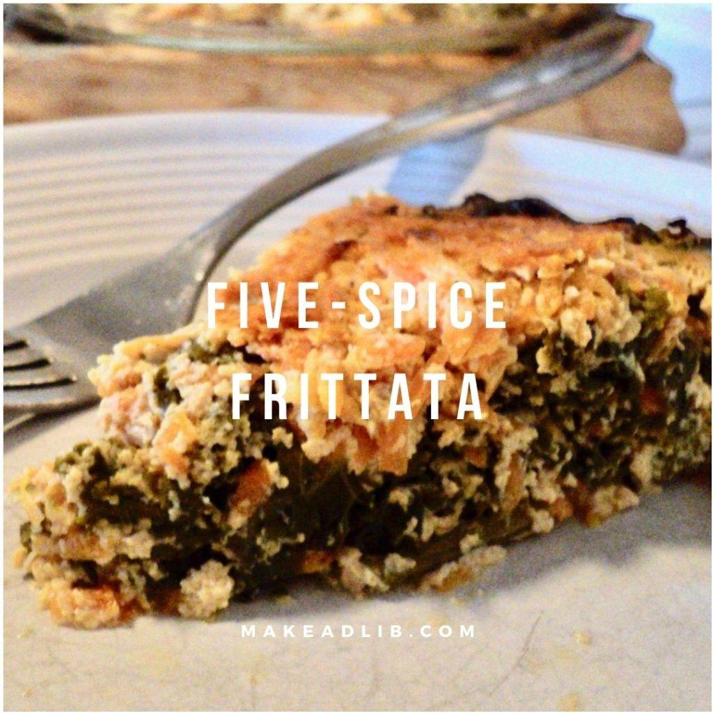 Vegan Five-Spice Frittata