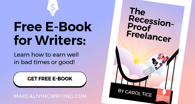 Recession-Proof-Freelance Writing - MAKEALIVINGWRITING.COm