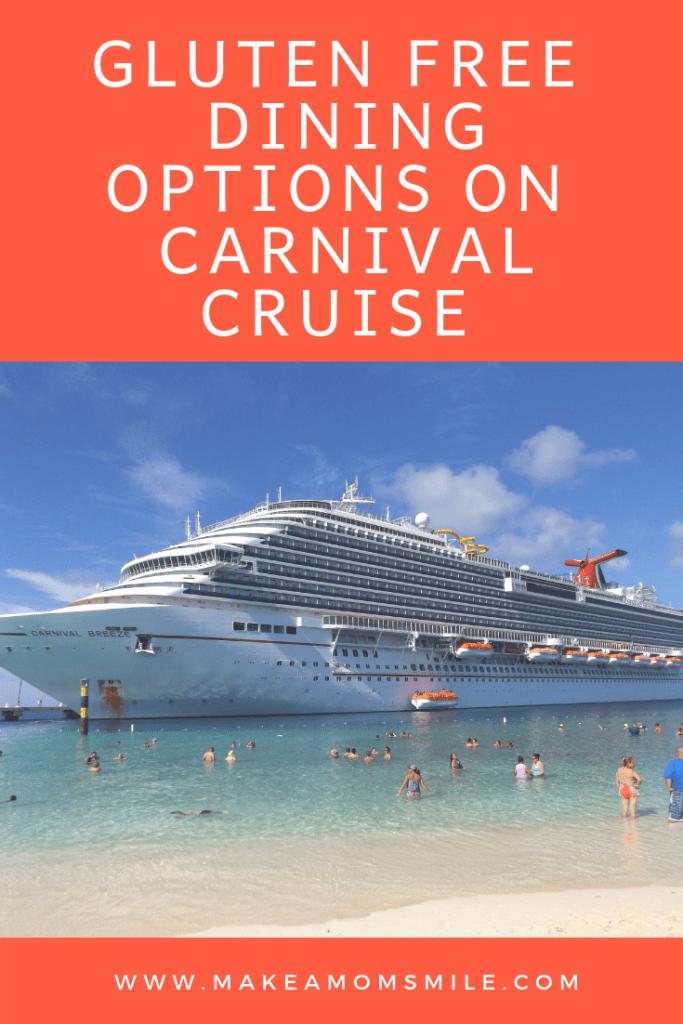 gluten free on carnival cruise