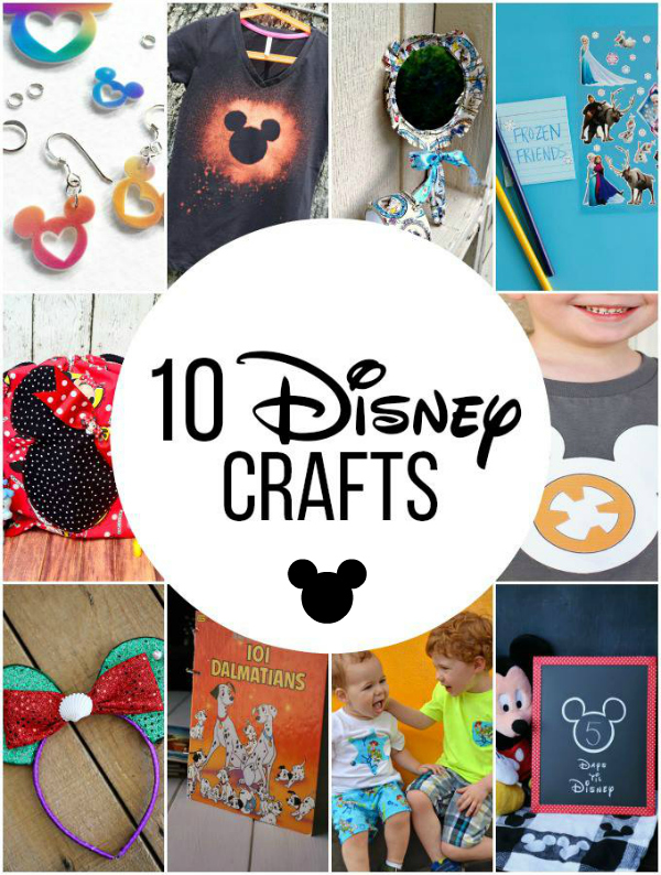 10 Disney Crafts For The Whole Family Make And Takes