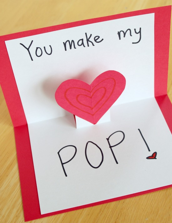 Pop Up Cards for Your Valentine | Make and Takes