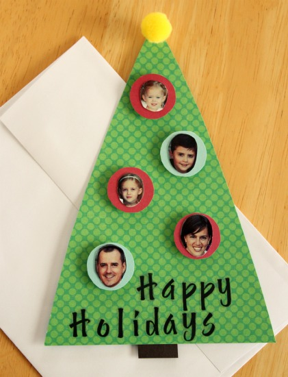 Personalized 3D Holiday Cards Make And Takes