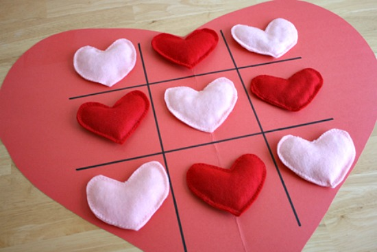 Valentines Tic Tac Toe Game Make And Takes