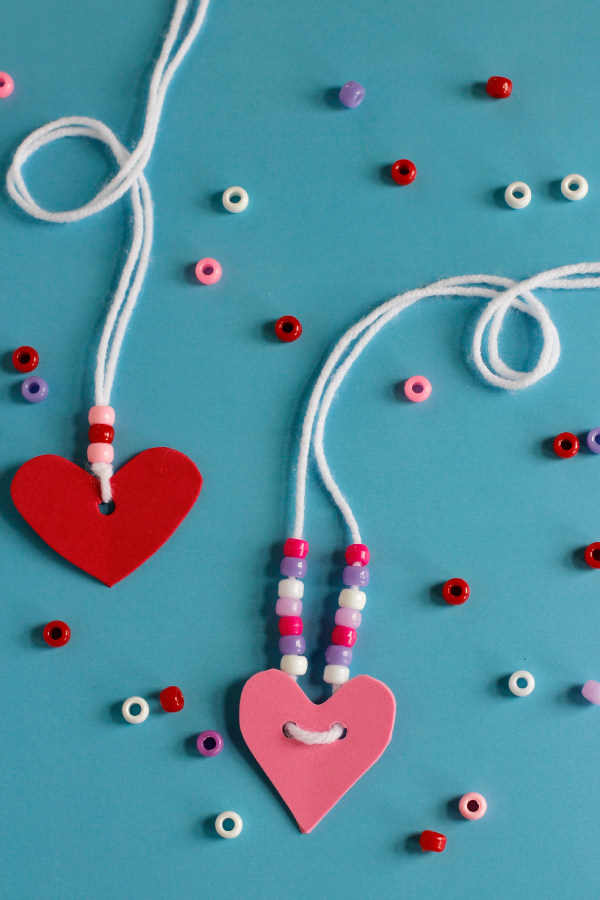 Valentines Friendship Necklaces Make And Takes