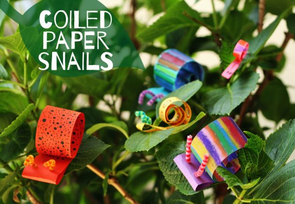 Coiled Paper Snails