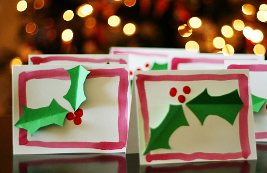 Holly Jolly Christmas Cards Make And Takes
