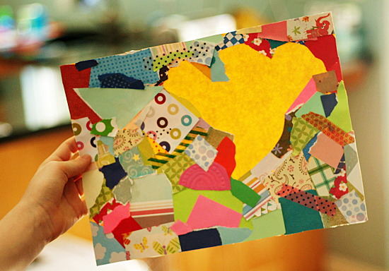 Negative Shape Collages Make And Takes