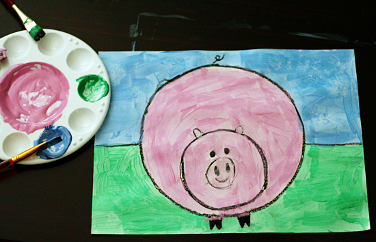 Draw And Paint A Cute And Chubby Piggie Make And Takes