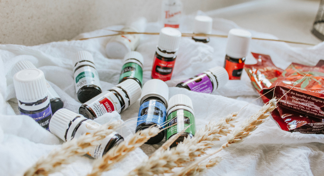 essential oils you get when becoming a young living wholesale member