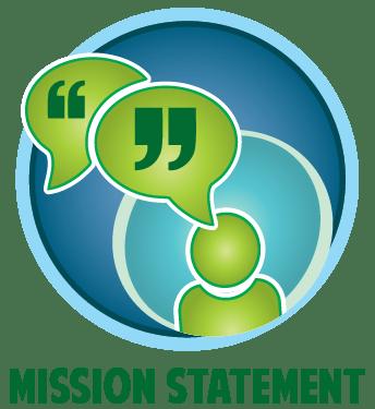dentist mission statement button