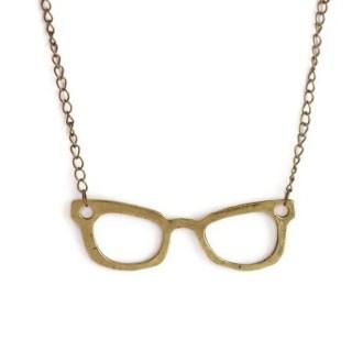 comprar colgante gafas nerd