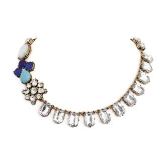comprar collar con cristales y piedras azules