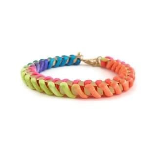 comprar pulsera flúor multicolor