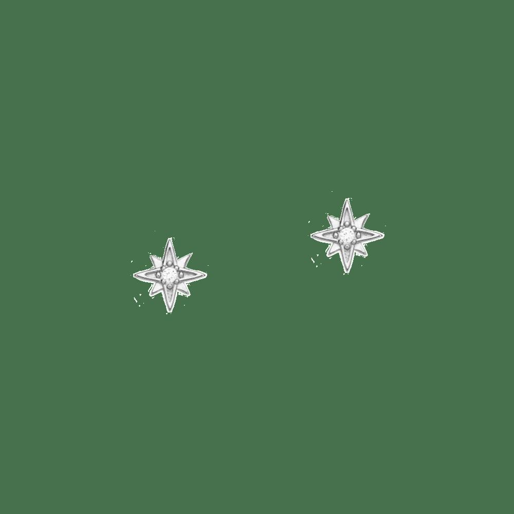Boutique en ligne e8c6a 8bef2 Pendientes polaris plata   Comprar pendientes pequeños de plata online