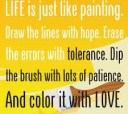 Life is a Painting