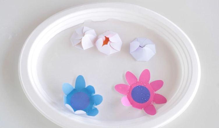 How to make blooming paper flowers make film play how to make blooming paper flowers mightylinksfo
