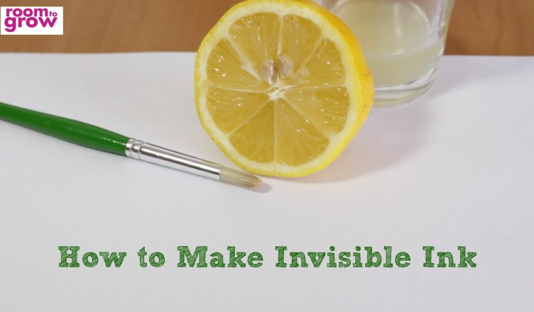 How to Make Invisible Ink