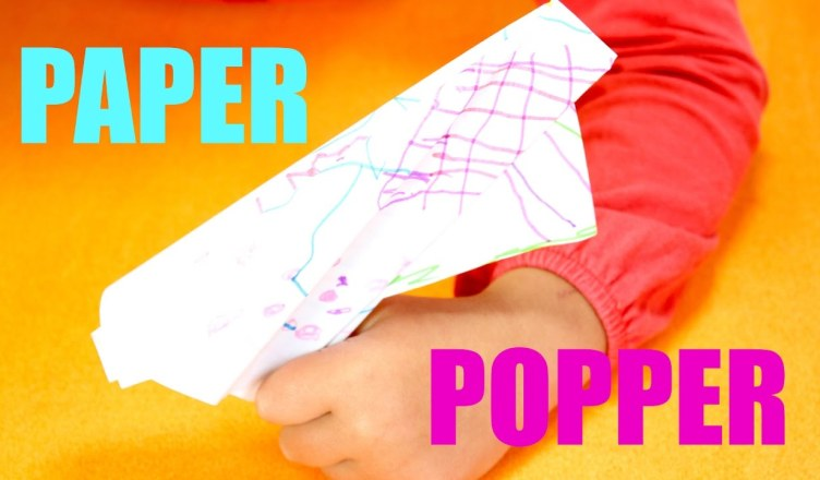 How to Make a Paper Popper!