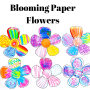 How to Make Blooming Paper Flowers