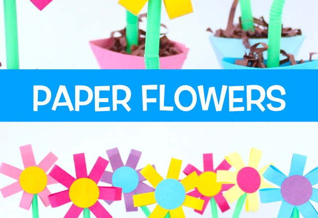 How to Make Paper Flowers and Origami Flower Pots