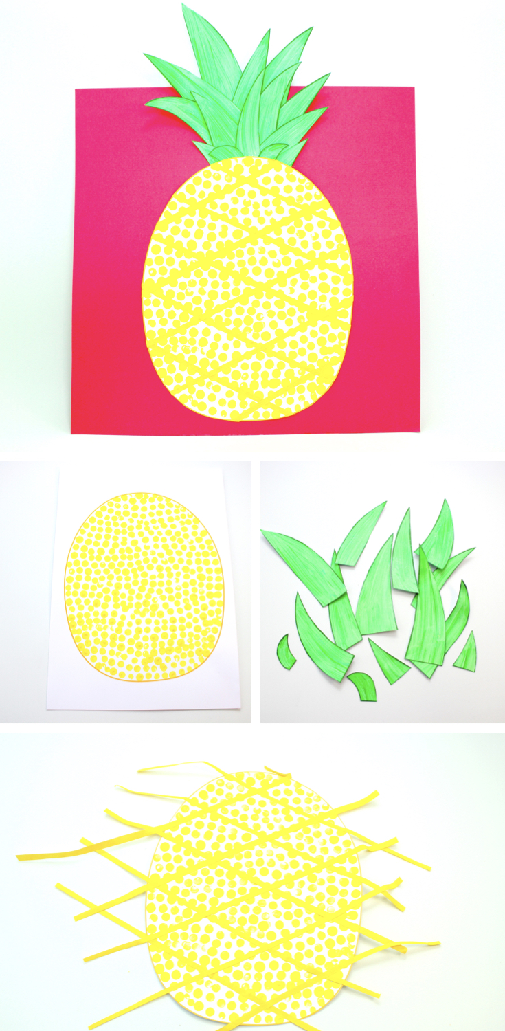 How to Make a Paper Pineapple