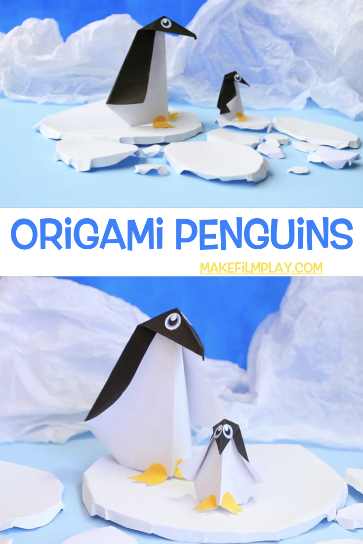 How to make these Origami Penguins