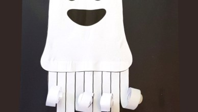 Paper Ghost Picture