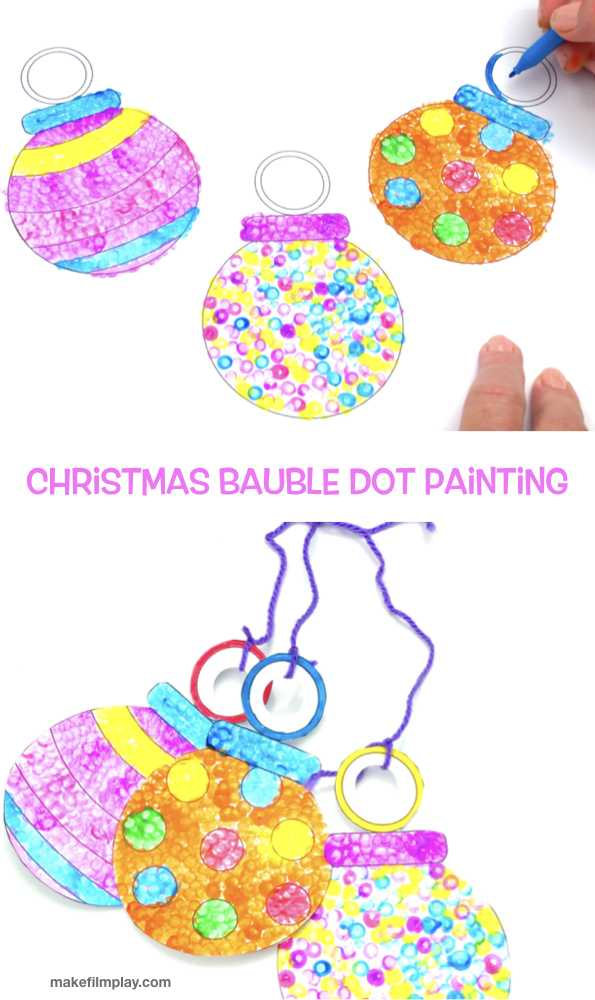 Here is a cute and easy Christmas craft that is perfect for toddlers and preschoolers. Download the free template and follow the video instructions to see how we did it! #kidscrafts #christmascrafts #toddlercrafts #christmasdecorations