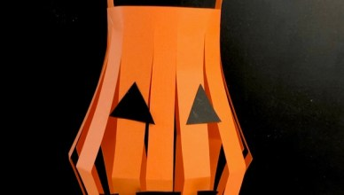 How to Make a Paper Lantern for Halloween