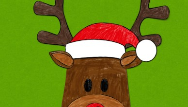 Make A Reindeer Picture