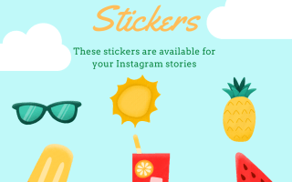 Summertime Giphy Stickers