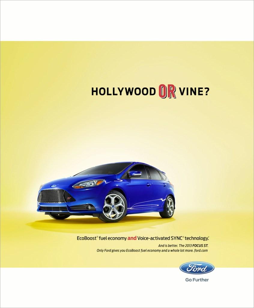 Nick Meek Ford Hollywood or Vine
