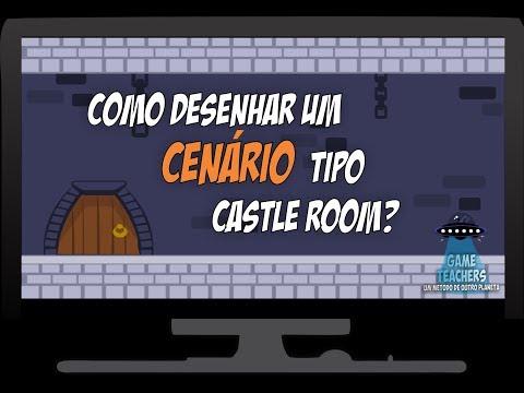 Como desenhar um cenário tipo Castle Room