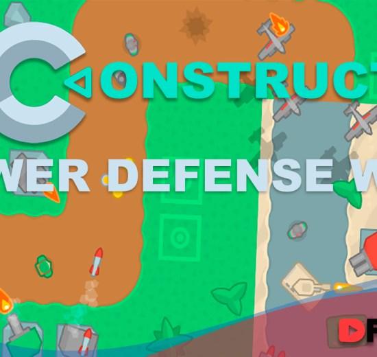 Como construir um jogo estilo Tower Defense no Construct 3