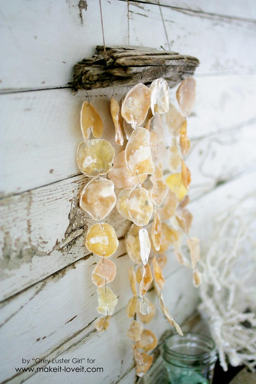 How to Make a Seashell Mobile | via makeit-loveit.com