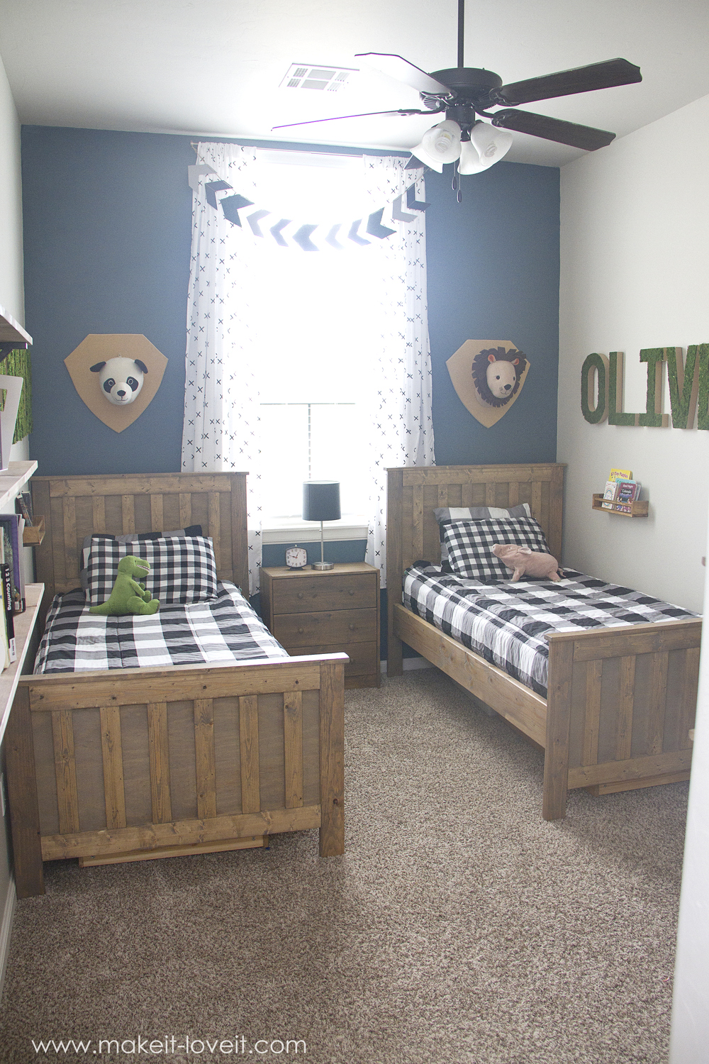 Ideas for a Shared BOYS Bedroom (...yay, all done ... on Small Bedroom Ideas For Boys  id=54603