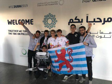 #TeamLuxembourg in Dubai