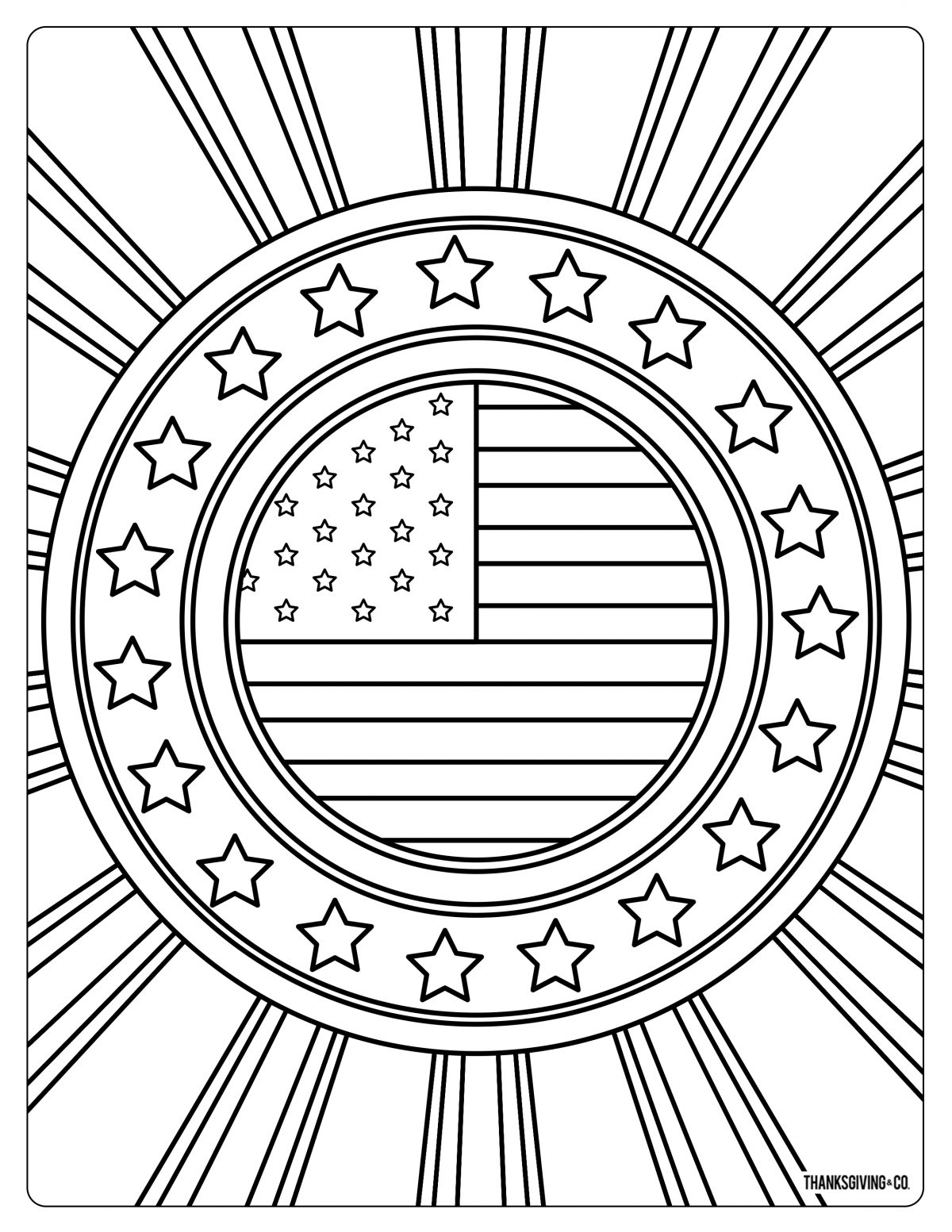 Free Memorial Day Coloring Pages Amp Cards You Can Print At Home