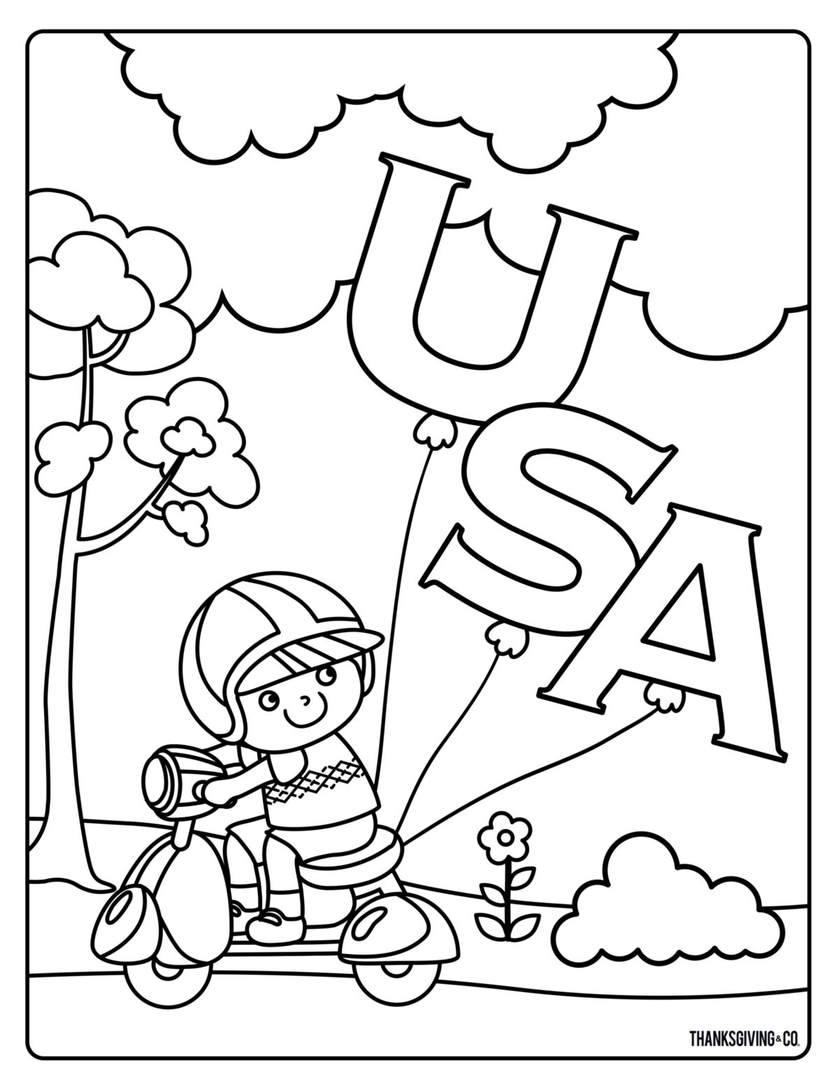 Free Memorial Day Coloring Pages For Kids