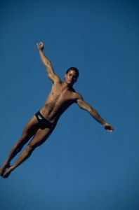 """Greg Louganis,"" from About.com, via Make It Like a Man!"